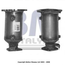MAZDA 323F 1.6 , 10/2000-12/2003 katalizators benzīna dzin.