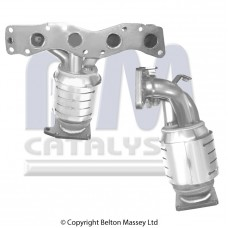 SUBARU JUSTY 1.3 , 12/2003-8/2007 katalizators benzīna dzin.