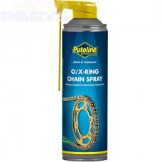 Ķēžu eļļa PUTOLINE X/O-Ring aerosols, 500ml