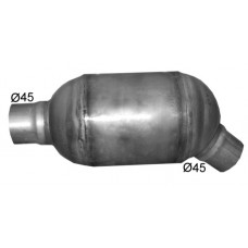 Katalizators D104mm caurule 45mm EURO 3