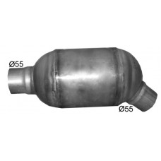 Katalizators D104mm caurule 55mm EURO 3