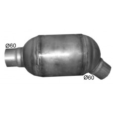 Katalizators D104mm caurule 60mm EURO 3